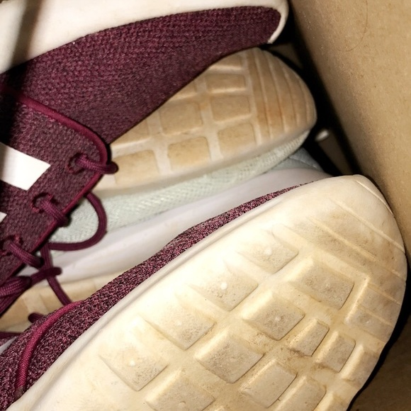 adidas Shoes - Box of name brand shoes